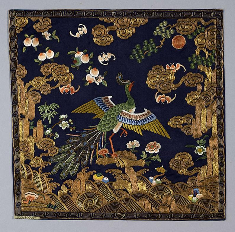 Royal_Ontario_Museum_rank_badge_buzi_peacock_embroidred