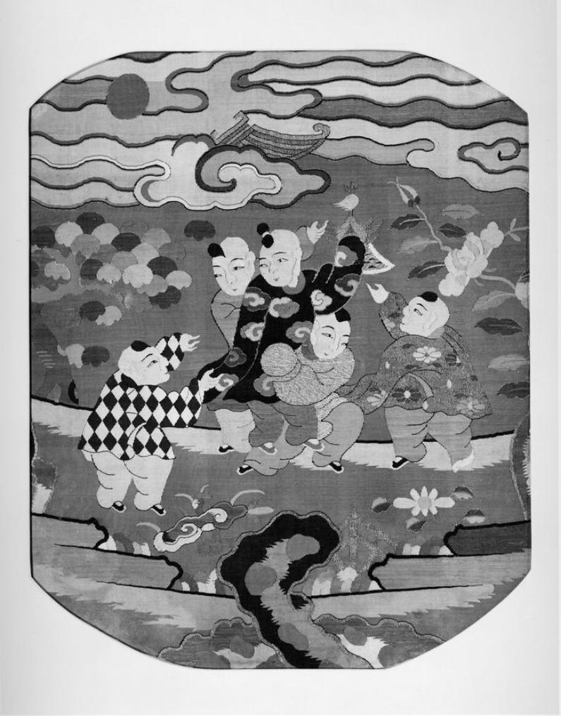 tapestry_fragment_100 children_Metropolitan_museum