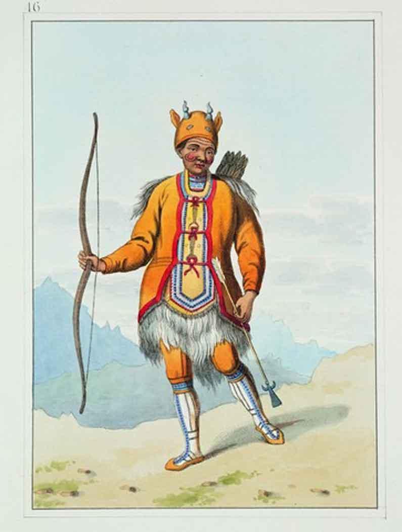 A Tungoose (Tungusic tribesman)