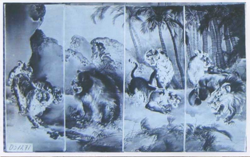 Four Wild Animals screen photograph
